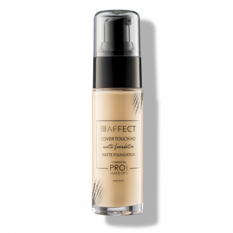 AFFECT COSMETICS - Cover Touch HD Matte Foundation - Tone 1