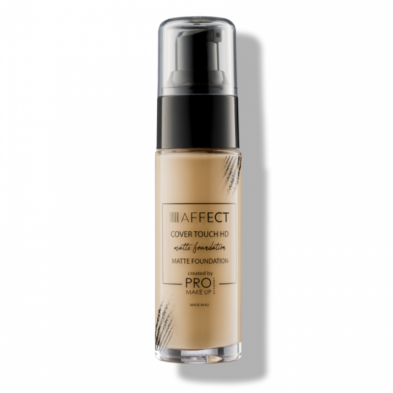 AFFECT COSMETICS - Cover Touch HD Matte Foundation - Tone 3