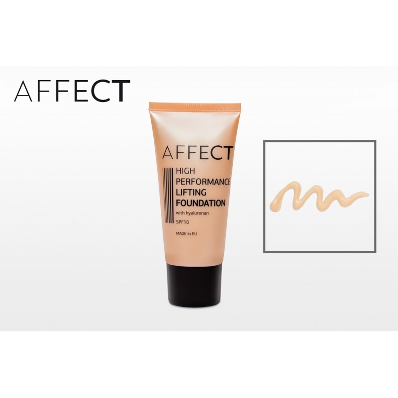 AFFECT COSMETICS - High Performance Lifting Foundation SPF 10, with hyaluronan - F0001