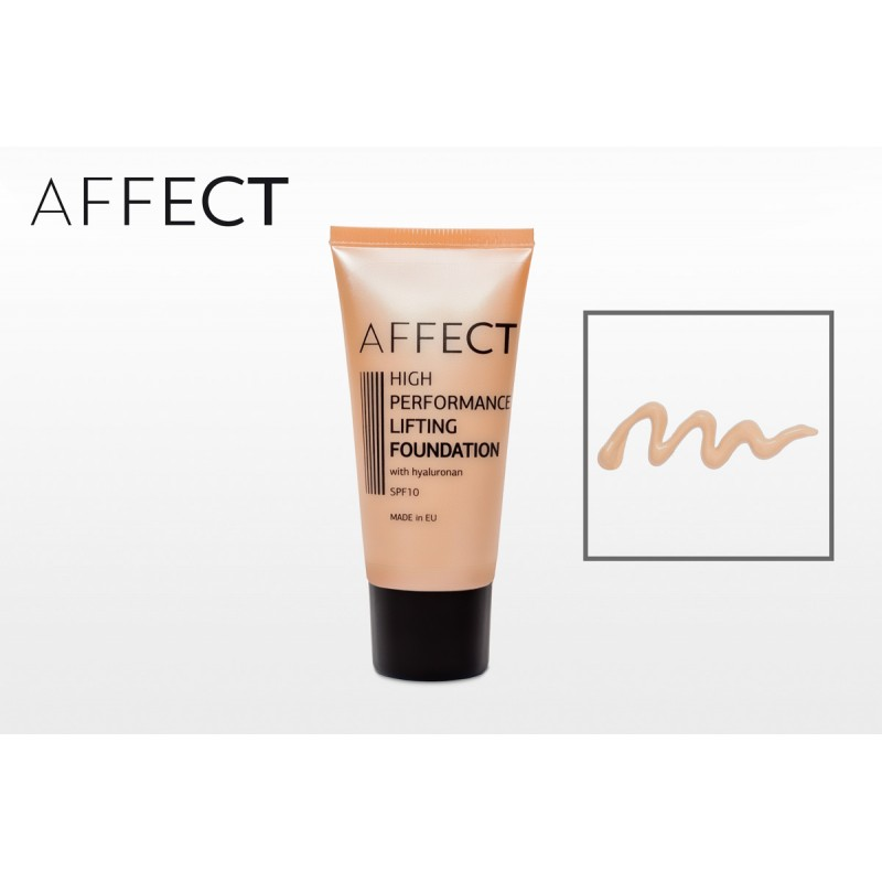 AFFECT COSMETICS - High Performance Lifting Foundation SPF 10, with hyaluronan - F0002