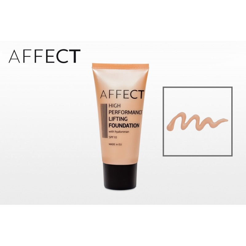 AFFECT COSMETICS - High Performance Lifting Foundation SPF 10, with hyaluronan - F0004