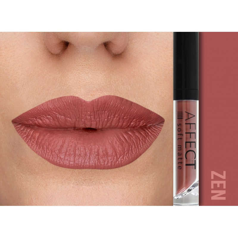 AFFECT COSMETICS - Liquid Lipstick soft matte - Zen